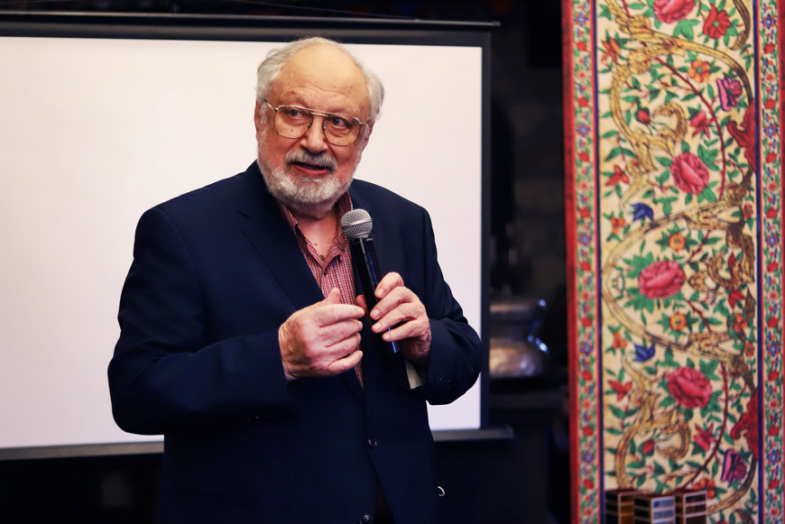 Рустам Ибрагимбеков, кинодраматург, Председатель Правления Союза кинематографистов Азербайджана