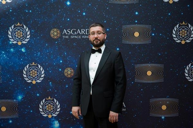 Руслан Ашурбейли на инаугурации Главы первого Космического Государства Асгардия Игоря Ашурбейли