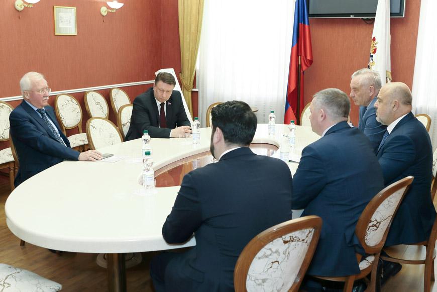 Встреча Игоря Ашурбейли с промышленниками и предпринимателями Нижегородской области