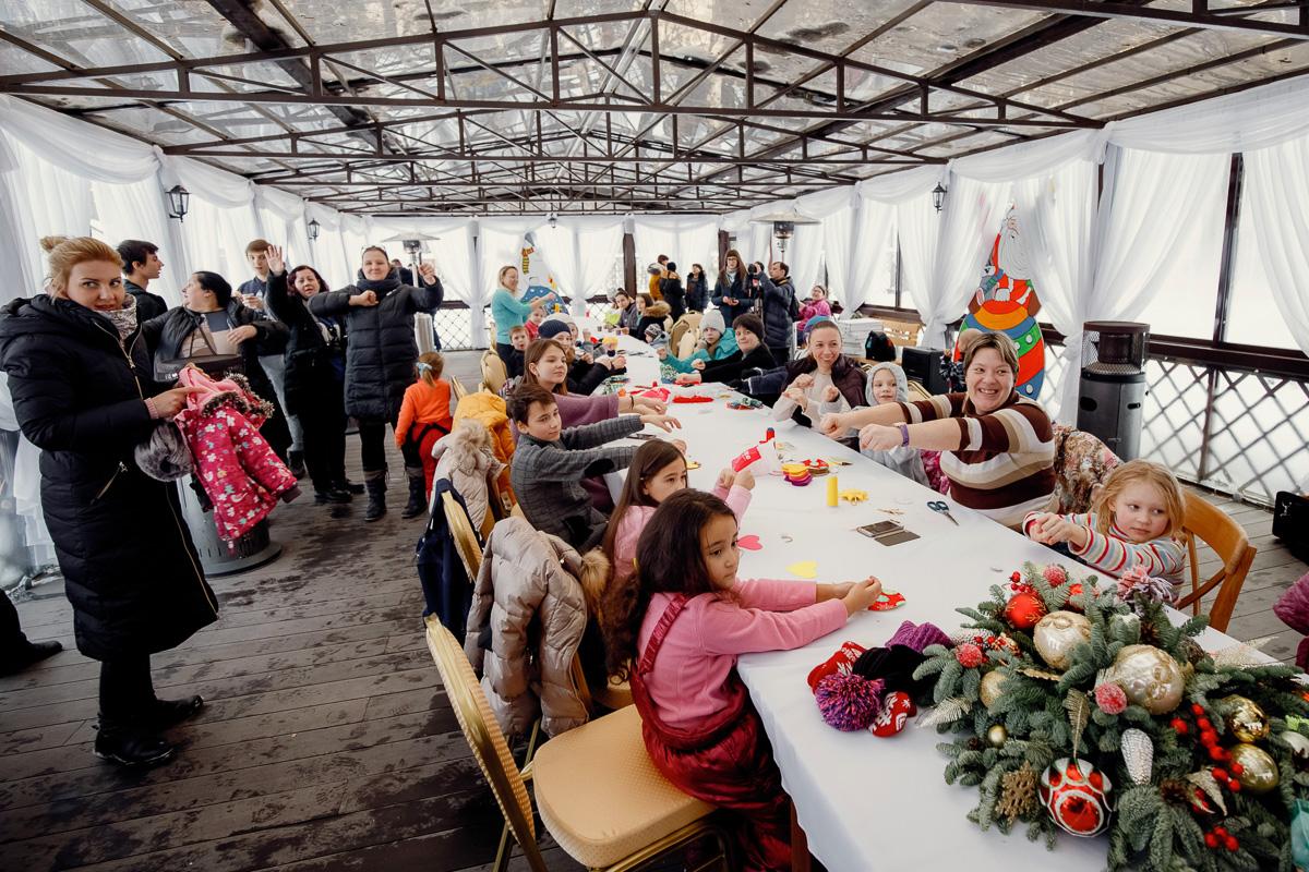 Мастер-класс для детей в Обители святой Елисаветы в Покровском-Стрешневе