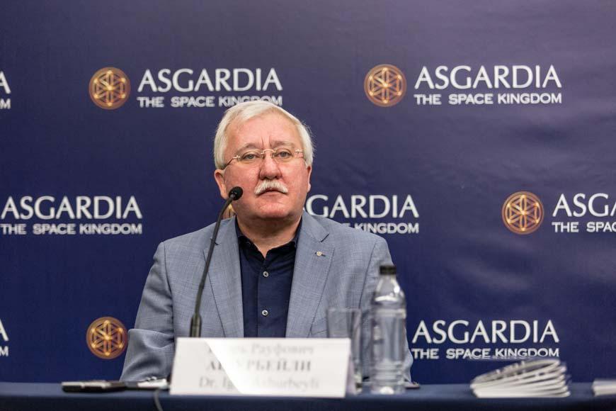 Игорь Ашурбейли на пресс-конференции в Москве 12 октября 2017
