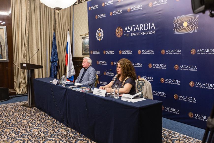 В Москве отметили первую годовщину государства Асгардия