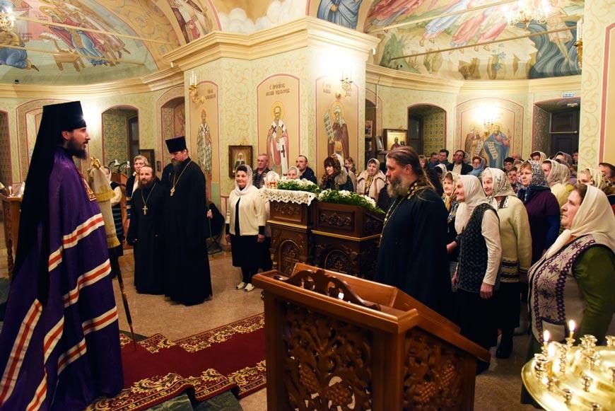 Епископ Лысковский и Лукояновский Силуан побеседовал с прихожанами