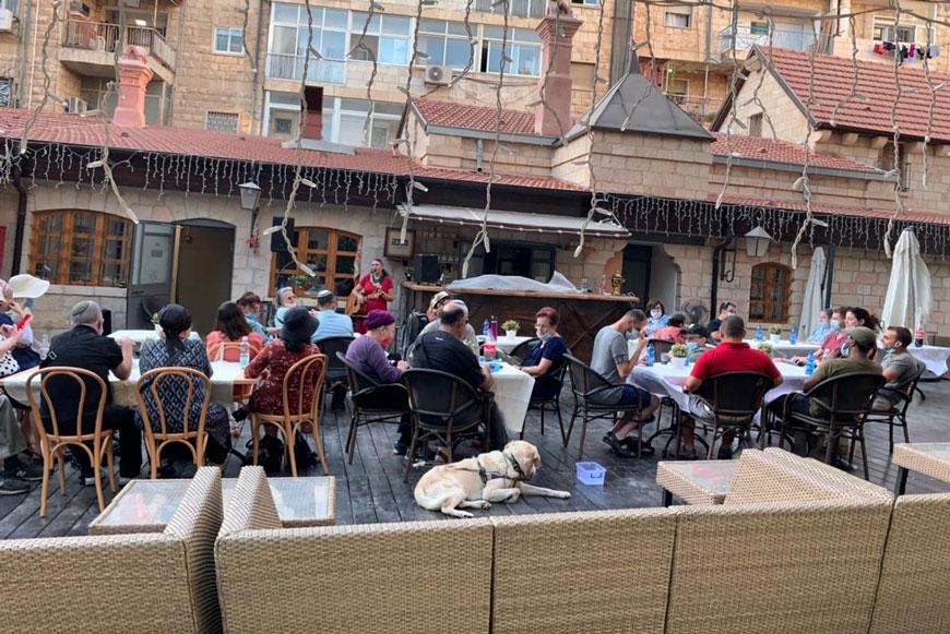 Праздник на Сергиевском подворье в Иерусалиме