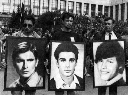 Назвать погибших героями года было бы очень по-советски. Пусть они будут нашей неумершей Совестью